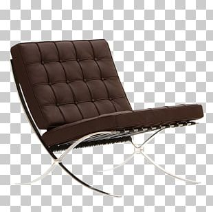 Barcelona Pavilion Barcelona Chair Eames Lounge Chair Living Room PNG