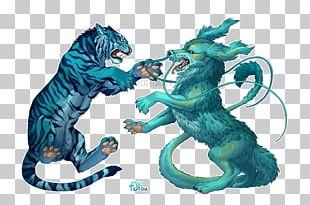 Tiger Cat Digital Art PNG