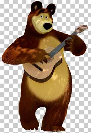 Masha Bear PNG