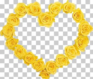Garden Roses Yellow Flower PNG