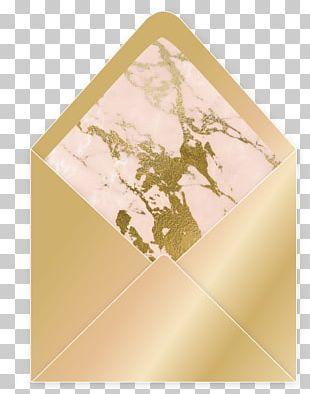 Wedding Invitation Paper Envelope Gold Gilding PNG