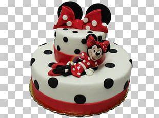 Birthday Cake Torte Cake Decorating Minnie Mouse Sugar Cake PNG
