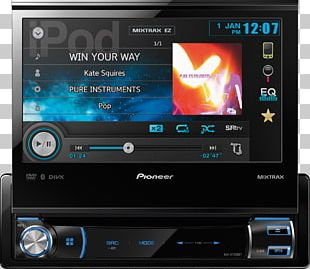 amazon com pioneer avh-x7500bt vehicle audio pioneer corporation iso 7736  png