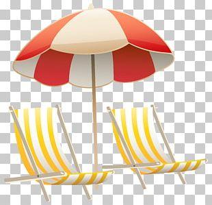Chair Umbrella Beach PNG