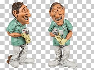 Dentist Polyresin Physician Profession Figurine PNG