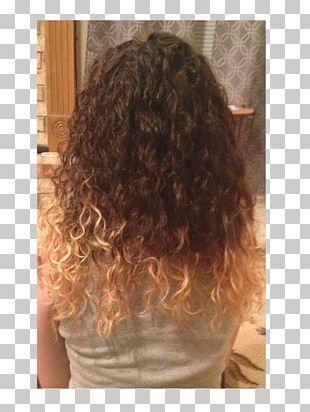 Hair Coloring Caramel Color Long Hair Brown Hair PNG
