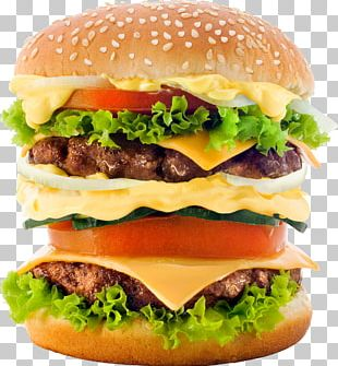 Hamburger Cheeseburger McDonald's Big Mac French Fries Fast Food PNG