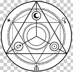 Alchemy Alchemical Symbol Magic Circle PNG