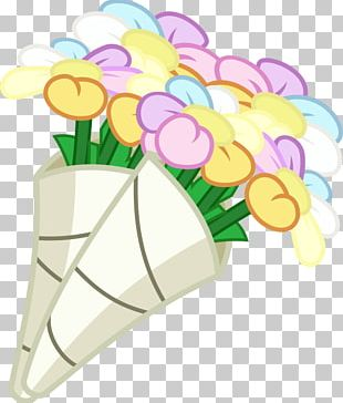 Flower Bouquet Pinkie Pie Pony PNG
