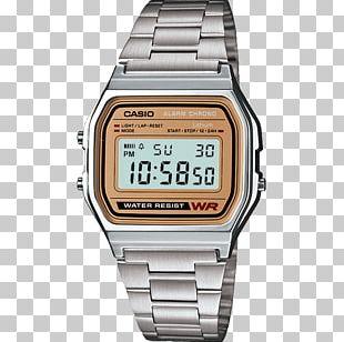 Casio Classic A158WA-1 Analog Watch Jewellery PNG
