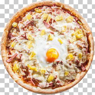 California-style Pizza Sicilian Pizza Ham Salami PNG