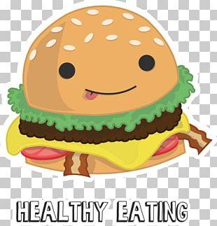 Fast Food Cheeseburger Hamburger Junk Food PNG