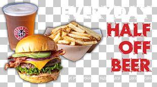 Hamburger Cheeseburger Fast Food Breakfast Sandwich Veggie Burger PNG