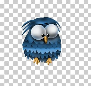 Owl Cartoon Drawing Violet PNG