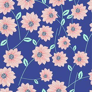 Blue Flower T-shirt PNG