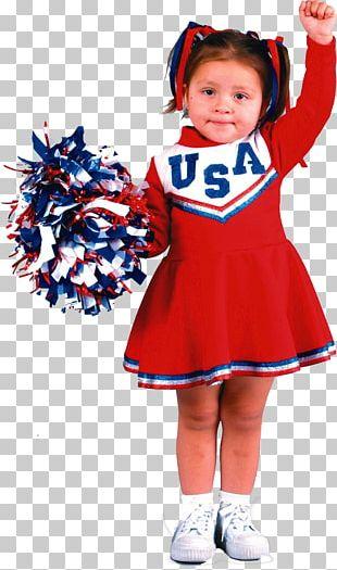 Cheerleading Uniforms Toddler Halloween Costume Child PNG