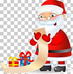 Santa Claus Christmas Ornament PNG