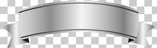 Banner Ribbon Silver PNG