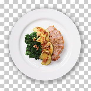 Side Dish Plate Recipe Garnish Meat Chop PNG