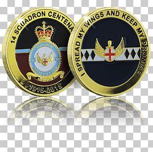 Challenge Coin Badge Emblem Royal Air Force PNG