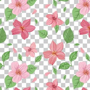 Pink Flowers Euclidean PNG