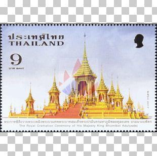 The Royal Cremation Of His Majesty King Bhumibol Adulyadej Postage Stamps And Postal History Of Thailand Postage Stamps And Postal History Of Thailand The Royal Crematorium PNG