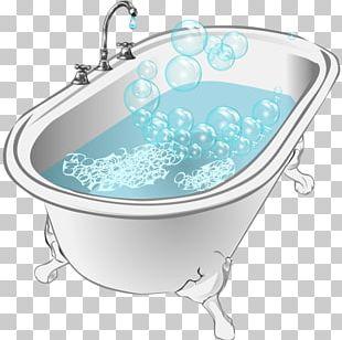 Bathtub Bubble Bath PNG