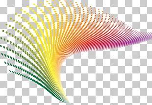 Wave Technology Color PNG