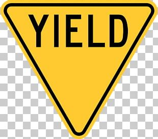 Yield Sign Stop Sign Manual On Uniform Traffic Control Devices Traffic Sign Driving PNG