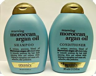Hair Care OGX Renewing Moroccan Argan Oil Shampoo OGX Renewing Argan Oil Of Morocco Conditioner Hair Conditioner PNG