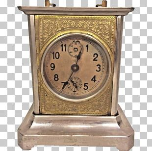 Carriage Clock Mantel Clock Musical Clock Antique PNG