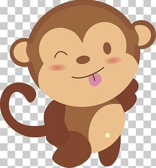 Monkey Cuteness PNG