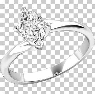 Engagement Ring Diamond Brilliant Sapphire PNG