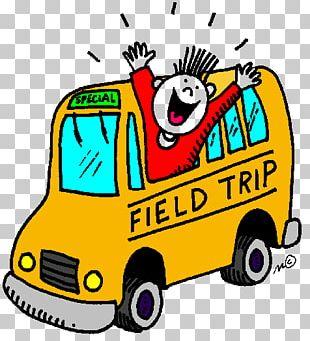 Field Trip School Bus PNG
