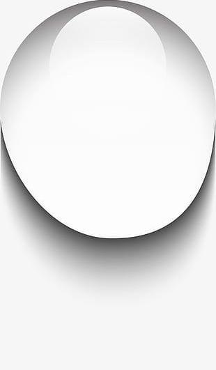 White Circle Drop PNG