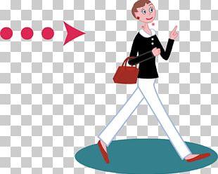 Woman Arrow Adobe Illustrator PNG