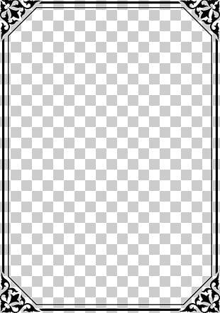 Lace Black Frame PNG Images, Lace Black Frame Clipart Free