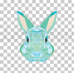 Rabbit Abstract Art Geometric Abstraction PNG