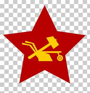 Soviet Union Hammer And Sickle Russian Revolution Red Star PNG