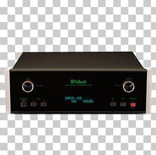 Preamplifier McIntosh Laboratory Audio Power Amplifier High Fidelity PNG