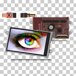 Display Device Electronics Microcontroller Touchscreen Liquid-crystal Display PNG