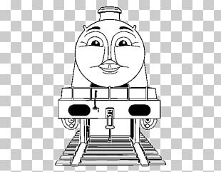 Thomas Percy Gordon Christmas Coloring Pages Coloring Book PNG