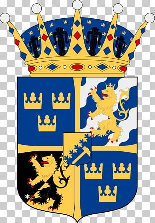Sweden Coat Of Arms Princess Swedish Royal Family Crest PNG
