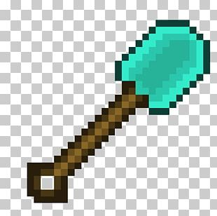 Minecraft Diamond Sword Pixel Art Roz PNG