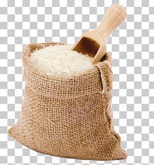Bag Rice Gunny Sack Hessian Fabric Jute PNG