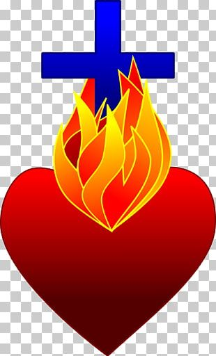 Heart Fire Flame Drawing PNG