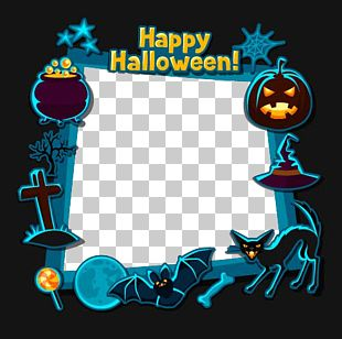 Halloween Flat Design Illustration PNG