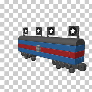 Rail Transport Train Railroad Car Locomotive Blocksworld PNG