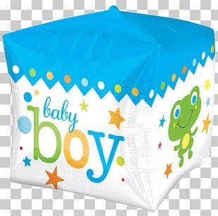 Balloon Infant Baby Shower Boy BoPET PNG