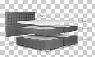 Box-spring Mattress Bed Furniture Living Room PNG